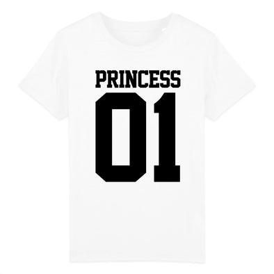 T-Shirt Enfant Princess 01 Blanc