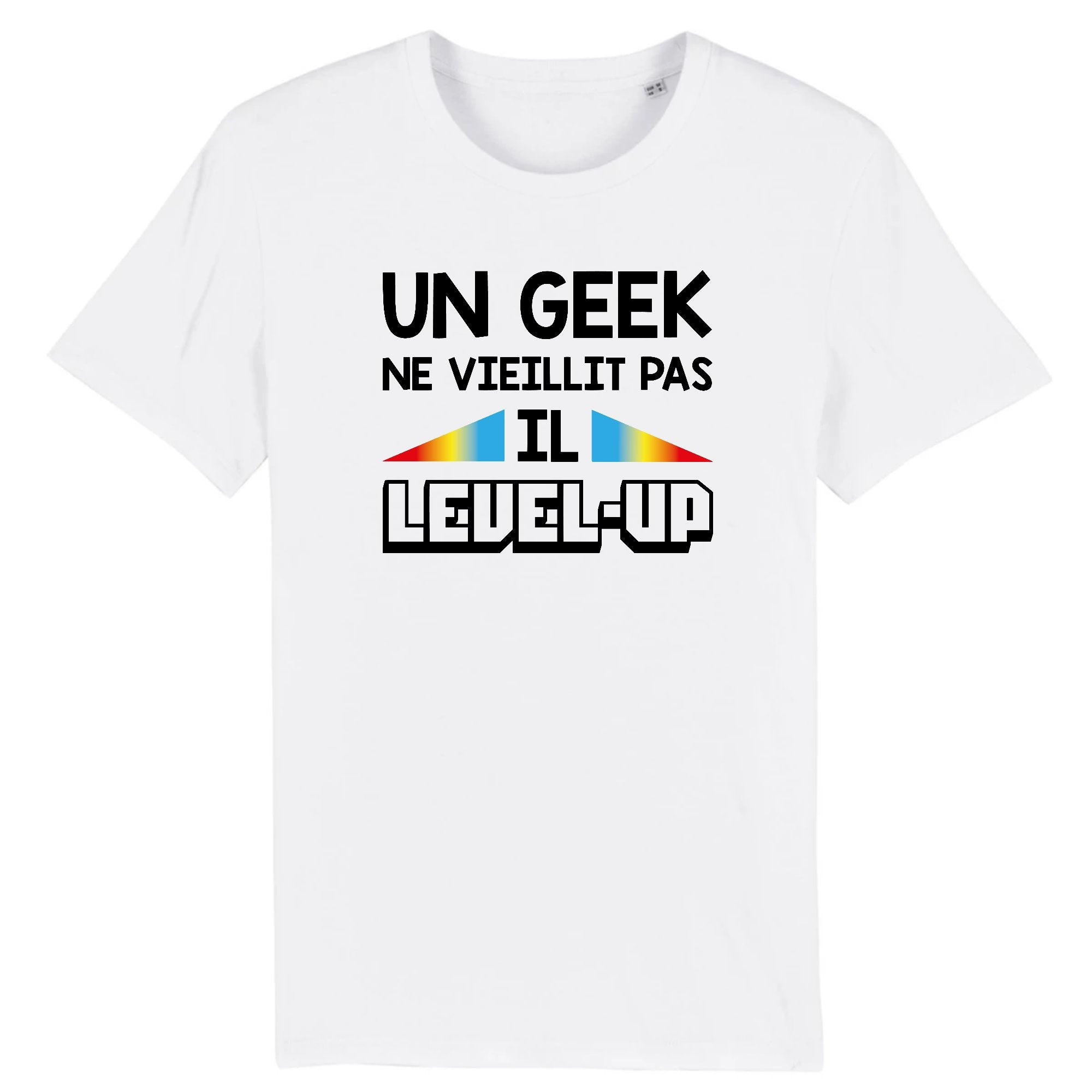 T-Shirt Homme Geek level-up