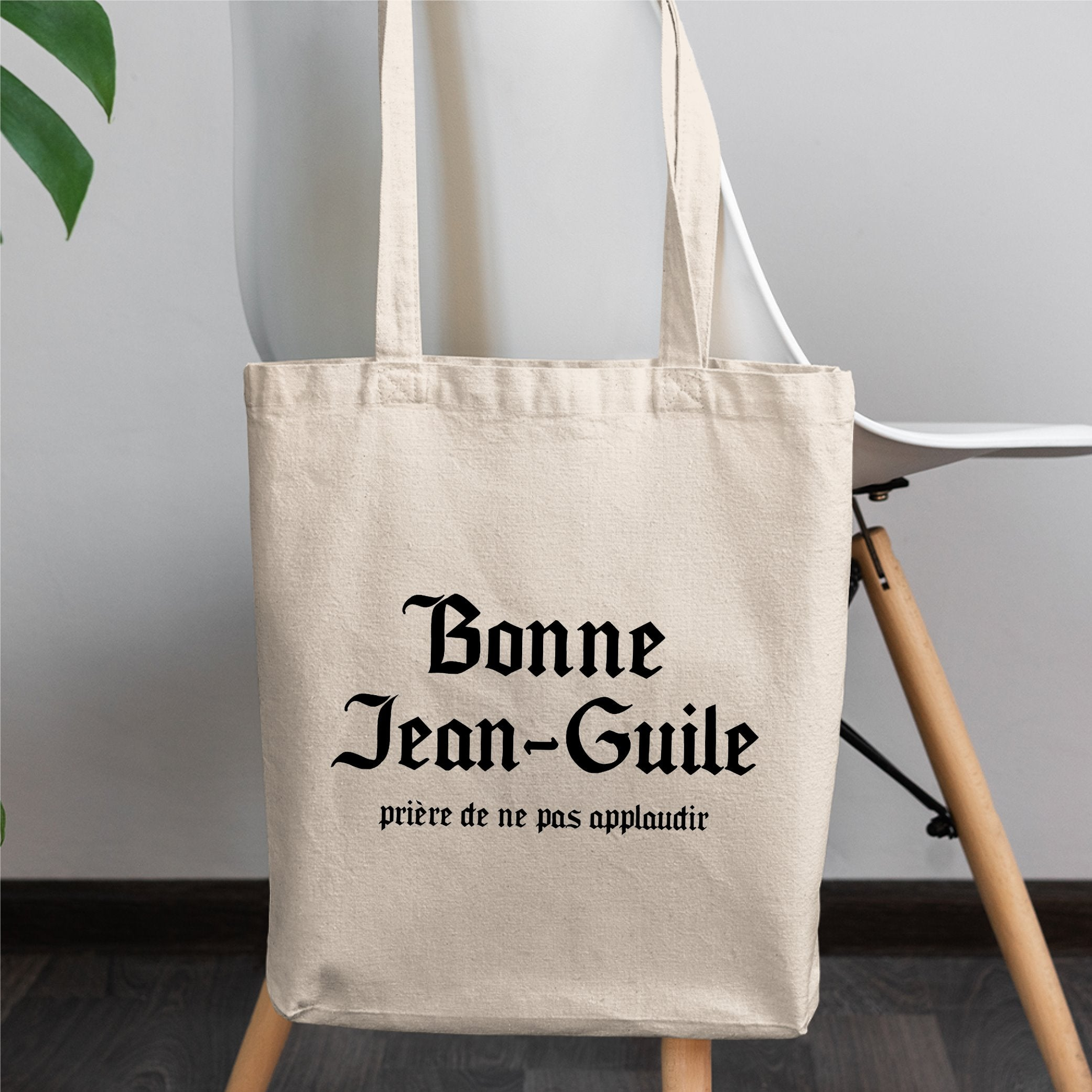 Tote bag Jean-Guile Blanc