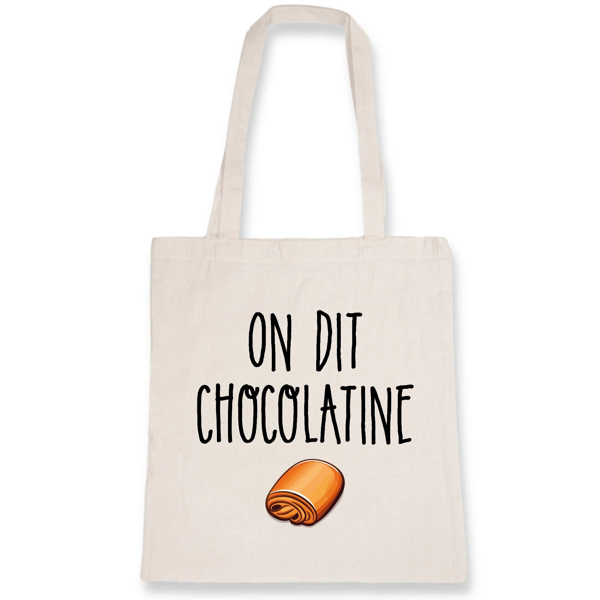 Tote bag On dit chocolatine