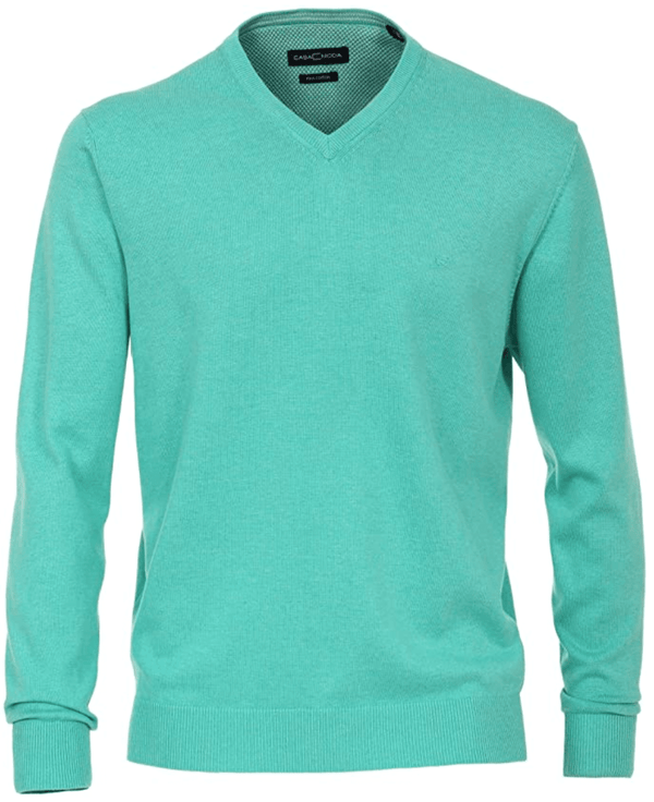 Casa Moda V-Neck Sweater - Green