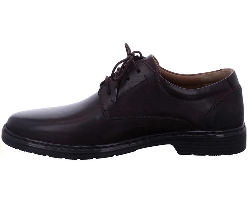 Josef Seibel - Alastair Red Bordo Leather Shoes