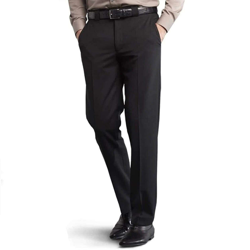 Meyer - Roma Fine Gabardine Suit Trousers - Black