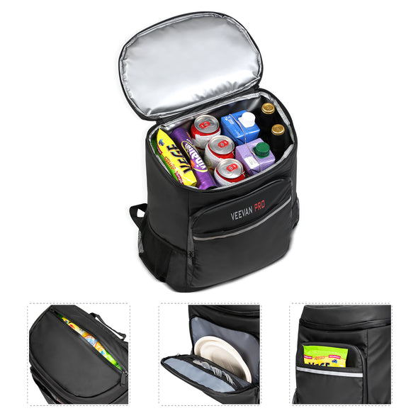 Veevanpro Insulted Cooler Backpack 33L