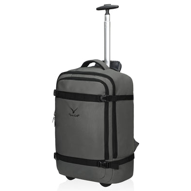 Hynes Eagle Cairo 42L Carry on Rolling Backpack