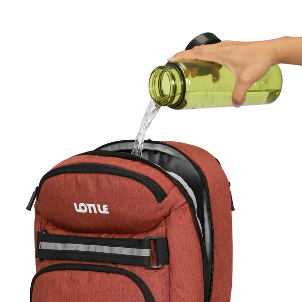 LOTILE Insulated Cooler Backpack 24 Cans