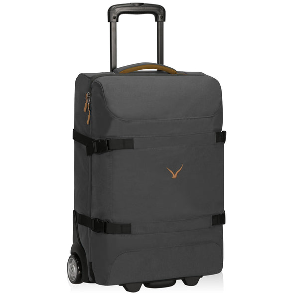 Hynes Eagle 22-inch Softside Carry on Luggage 42L