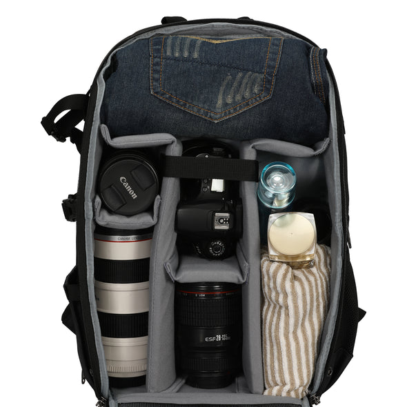 LOTILE Camera Backpack Laptop Bag