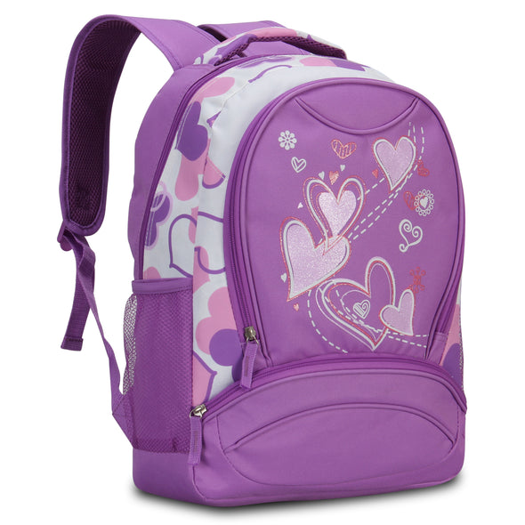 Veegul Sweetheart Pattern School Backpack