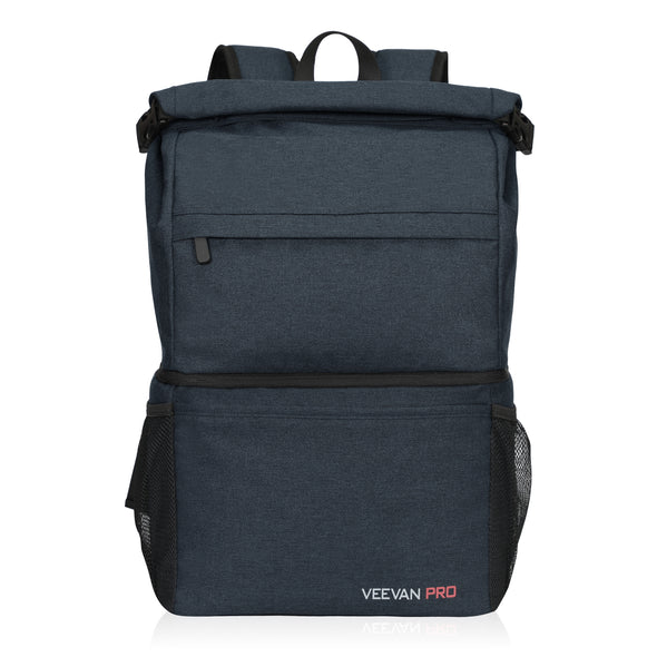Veevanpro 22L Soft Sided Waterproof Cooler Backpack 18 cans