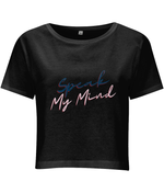 "Load image into Gallery viewer, ""Speak My Mind"" Cropped T-Shirt"