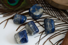 Load image into Gallery viewer, Lapis Lazuli Tumbled Stone