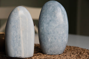 Blue Calcite Free Form