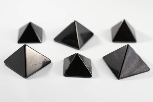Russian Shungite Pyramid. Light Leak Healing