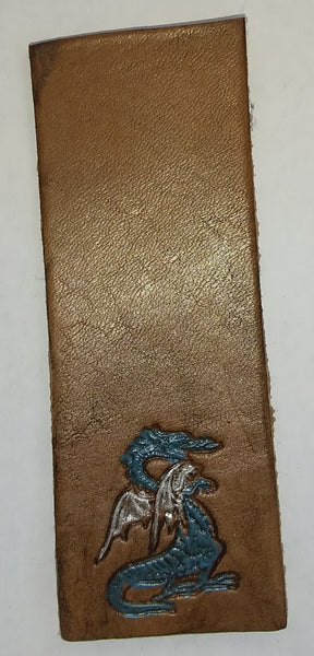 Blue dragon bookmark