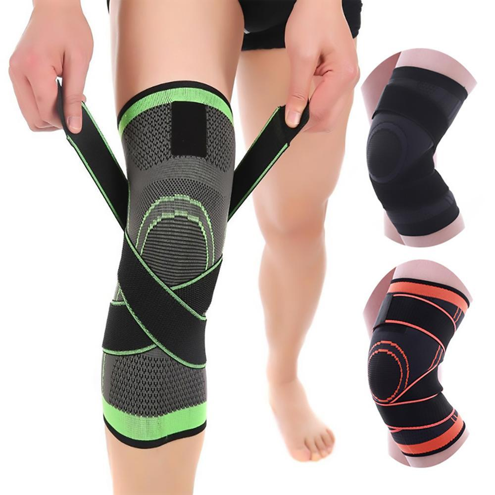 Knee Compression Sleeve Brace Support for Running, Arthritis, Crossfit HomeQuill