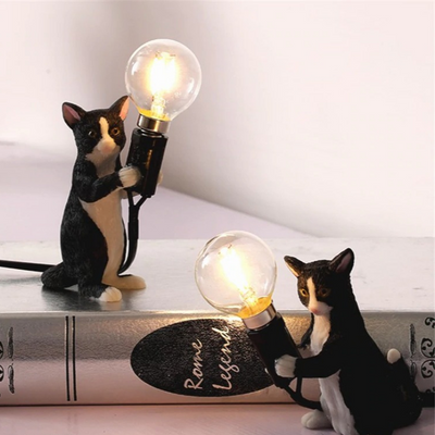 HomeQuill™ Felicity Cat Table Lamp