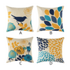 HomeQuill™ Premium Decorative Flowers n' Birds Pillow Cases