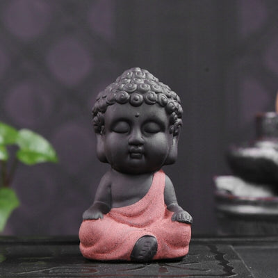 HomeQuill™ Mini Buddha Figurine
