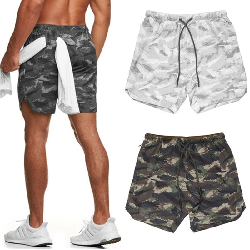 Flexco™ Men's Camouflage Sports Shorts
