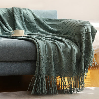HomeQuill™ Knitted Throw Blanket