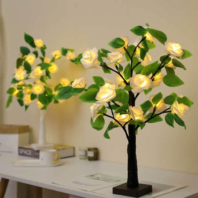 HomeQuill™ LED Rose Desk Lamp