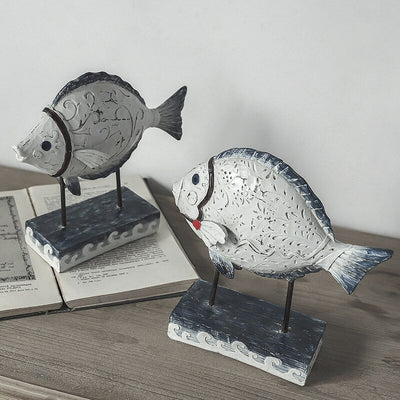 HomeQuill™ Nordic Resin Fish Decoration