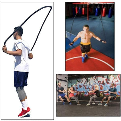 Heavy Weighted Jump Rope for Workout & Fitness HomeQuill