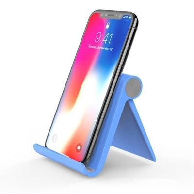 Portable Mobile Phone Holder Stand HomeQuill Blue