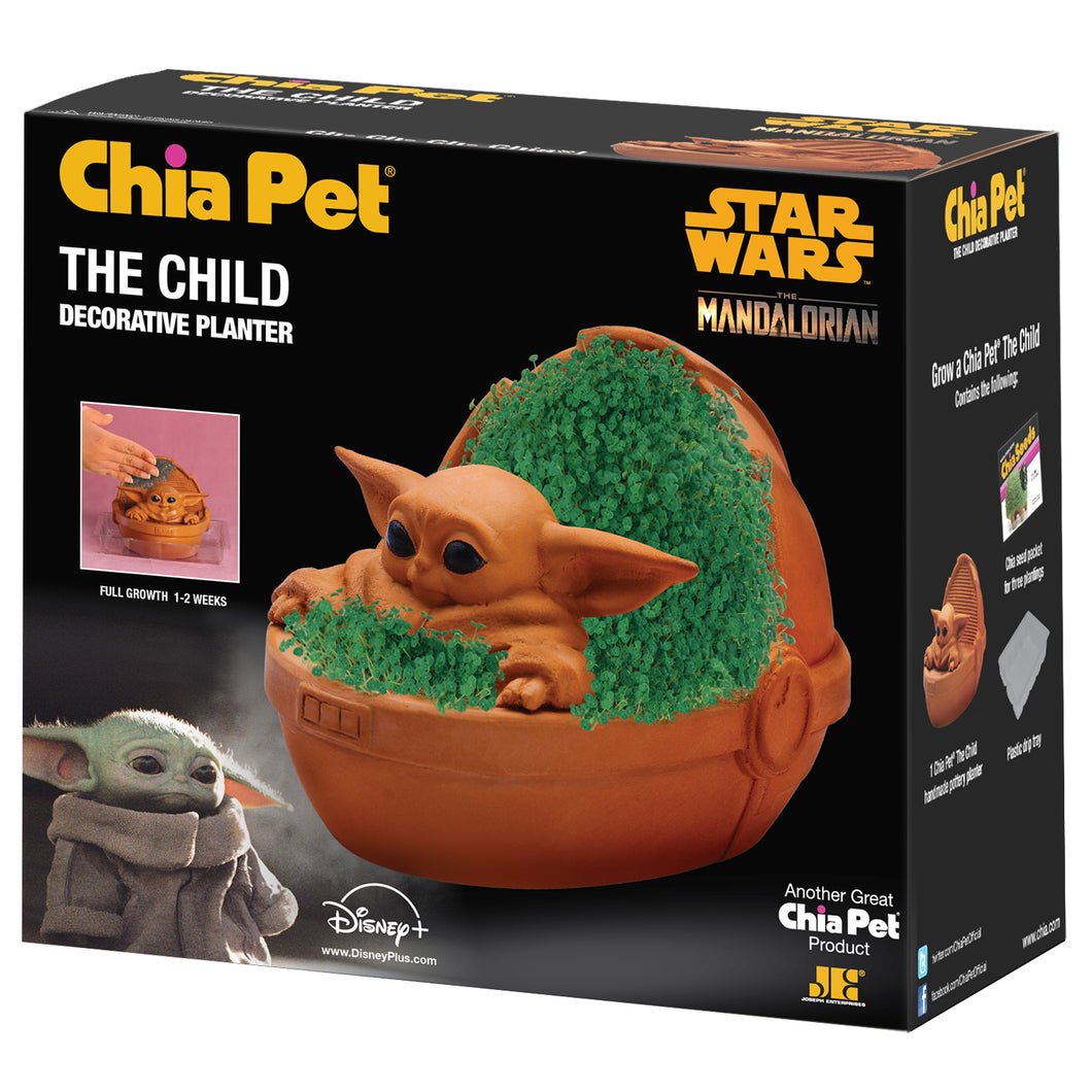 The Child Chia Pet (Star Wars - 'The Mandalorian')