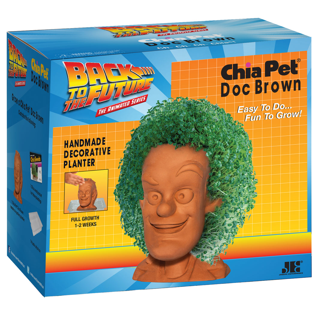 Doc Brown ('Back to the Future') Chia Pet
