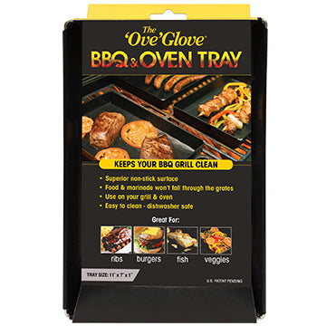 The 'Ove' Glove BBQ & Oven Tray