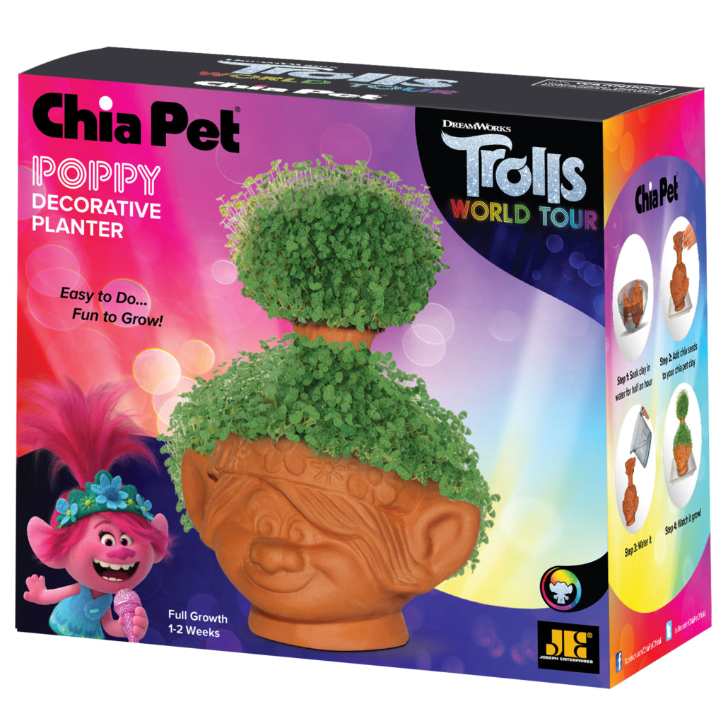 Poppy ('Trolls - World Tour') Chia Pet