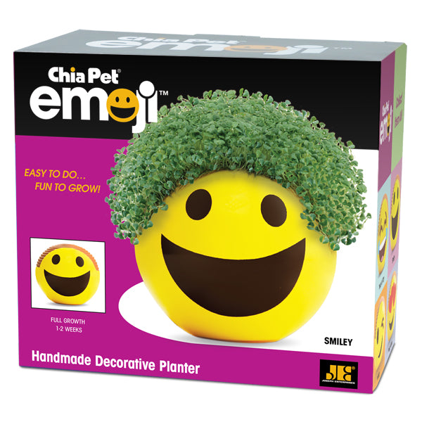 Chia Pet Emoji - Smiley