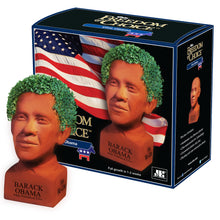 Load image into Gallery viewer, Barack Obama Chia Pet