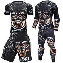 Load image into Gallery viewer, Men Sportswear Breathable Quick Dry Tracksuits Compression Gym Fitness Workout Clothes Sport Jogging Training Running Set Male