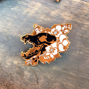 Wolfsbane Wolf - Black Edition - Enamel Pin