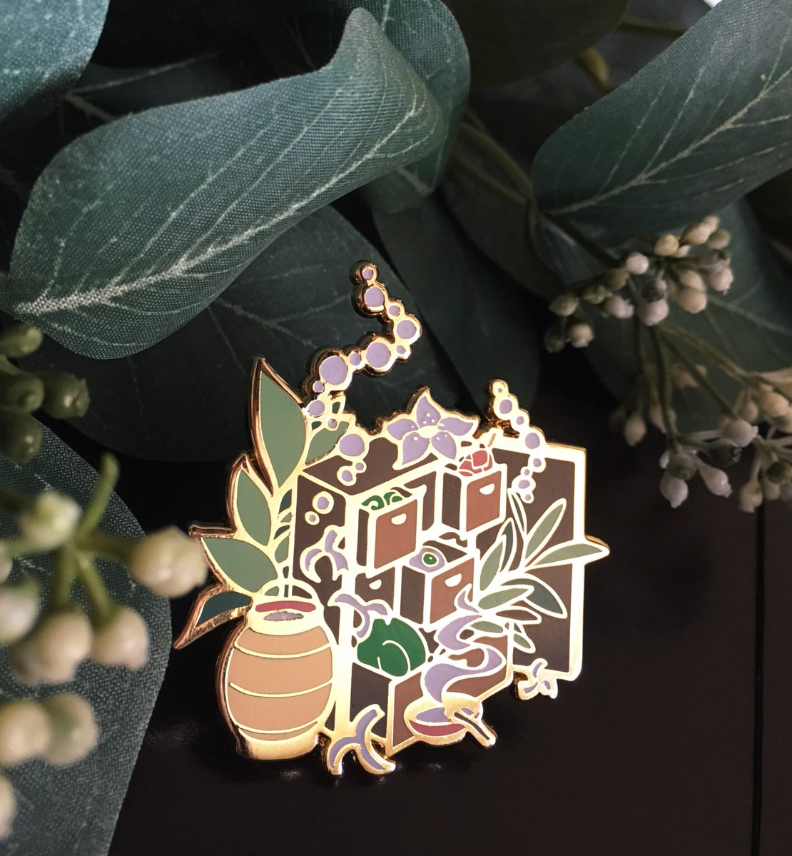 Mushishi Enamel Pin