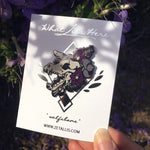 Load image into Gallery viewer, Wolfsbane Wolf Enamel Pin