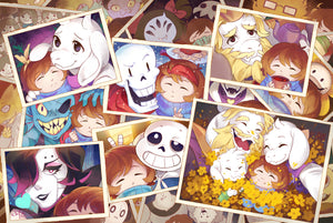 Undertale: Boss Encounter Album Print