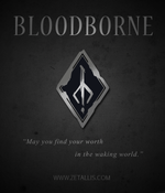 Load image into Gallery viewer, Bloodborne Hunter's Mark Enamel Pin