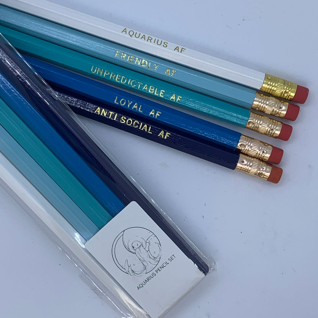AQUARIUS AF Pencil Set