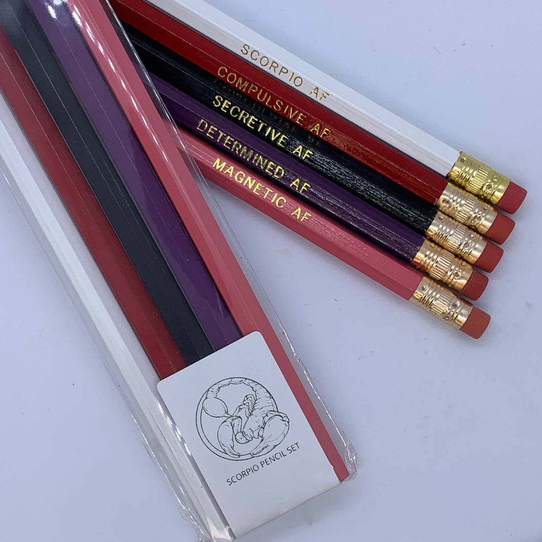 SCORPIO AF Pencil Set