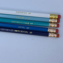 Load image into Gallery viewer, AQUARIUS AF Pencil Set