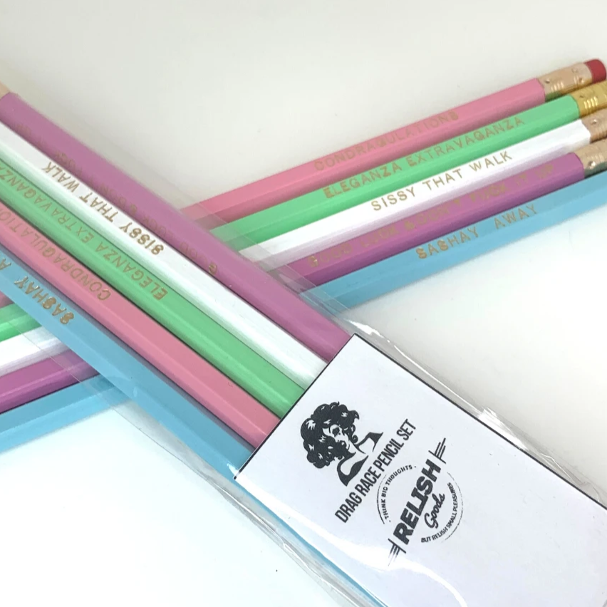 Drag Race Pencil Set