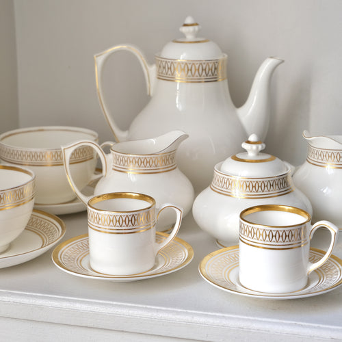 Cartier 'La Maison des Must' Coffee and Tea Set for Two - La Porte Bonheur