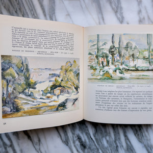 Collection of Cézanne, Manet, and Monet Books - La Porte Bonheur