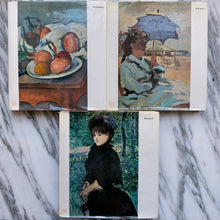 Load image into Gallery viewer, Collection of Cézanne, Manet, and Monet Books - La Porte Bonheur