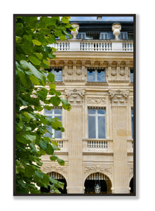 Jardin du Palais Royal in the Summer - Paris Print - La Porte Bonheur