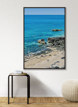 Load image into Gallery viewer, Summer on the Rocks in Granville - Normandy Print - La Porte Bonheur
